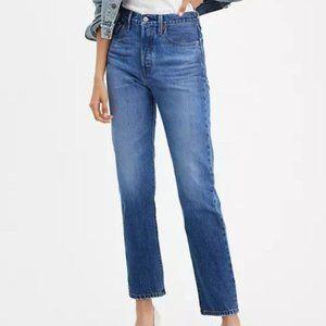 NWT Levi's 501 Original Fit Women's Jeans Charleston Sky Size 27 x 32